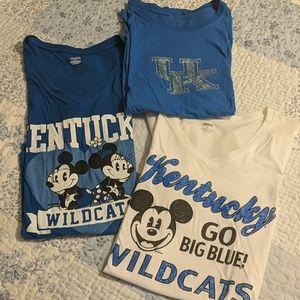 University of Kentucky Mickey Mouse shirts.